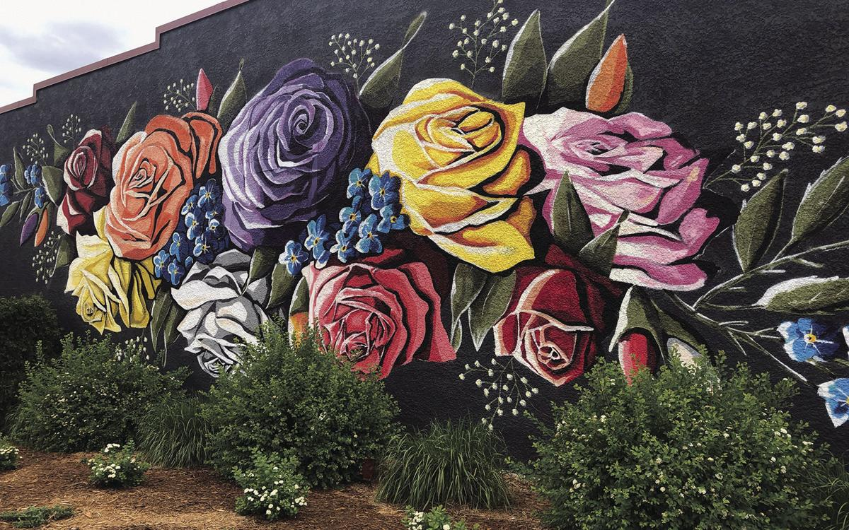 Mural finished