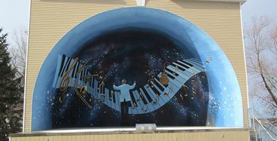 Sauk Centre Bandshell Mural