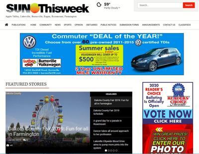 Sun Thisweek website