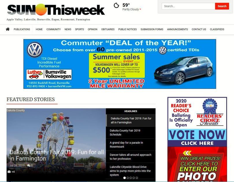 Memberships needed for full access to SunThisweek com starting Aug