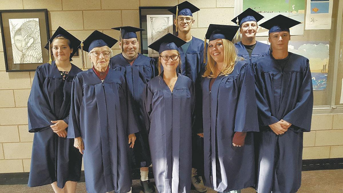 local students participate in ged graduation ceremony isanti