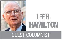 Lee Hamilton Column Logo MT