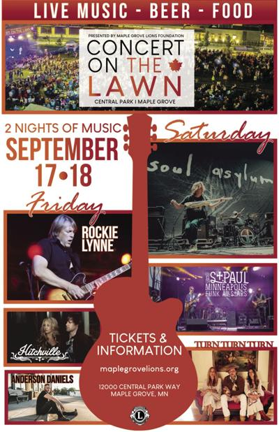 Concert on the Lawn is back in Maple Grove