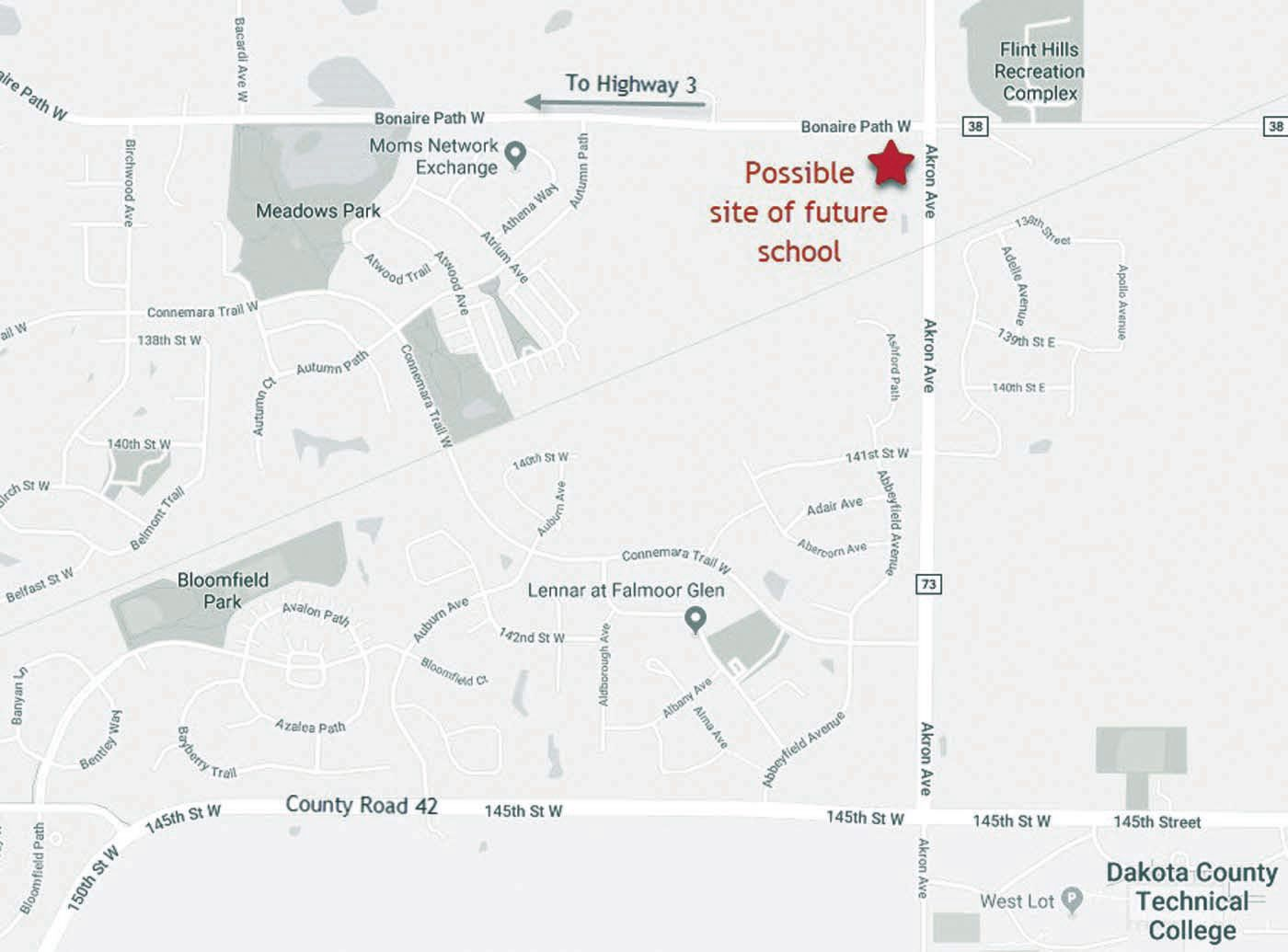 District 196 purchasing land for future school site