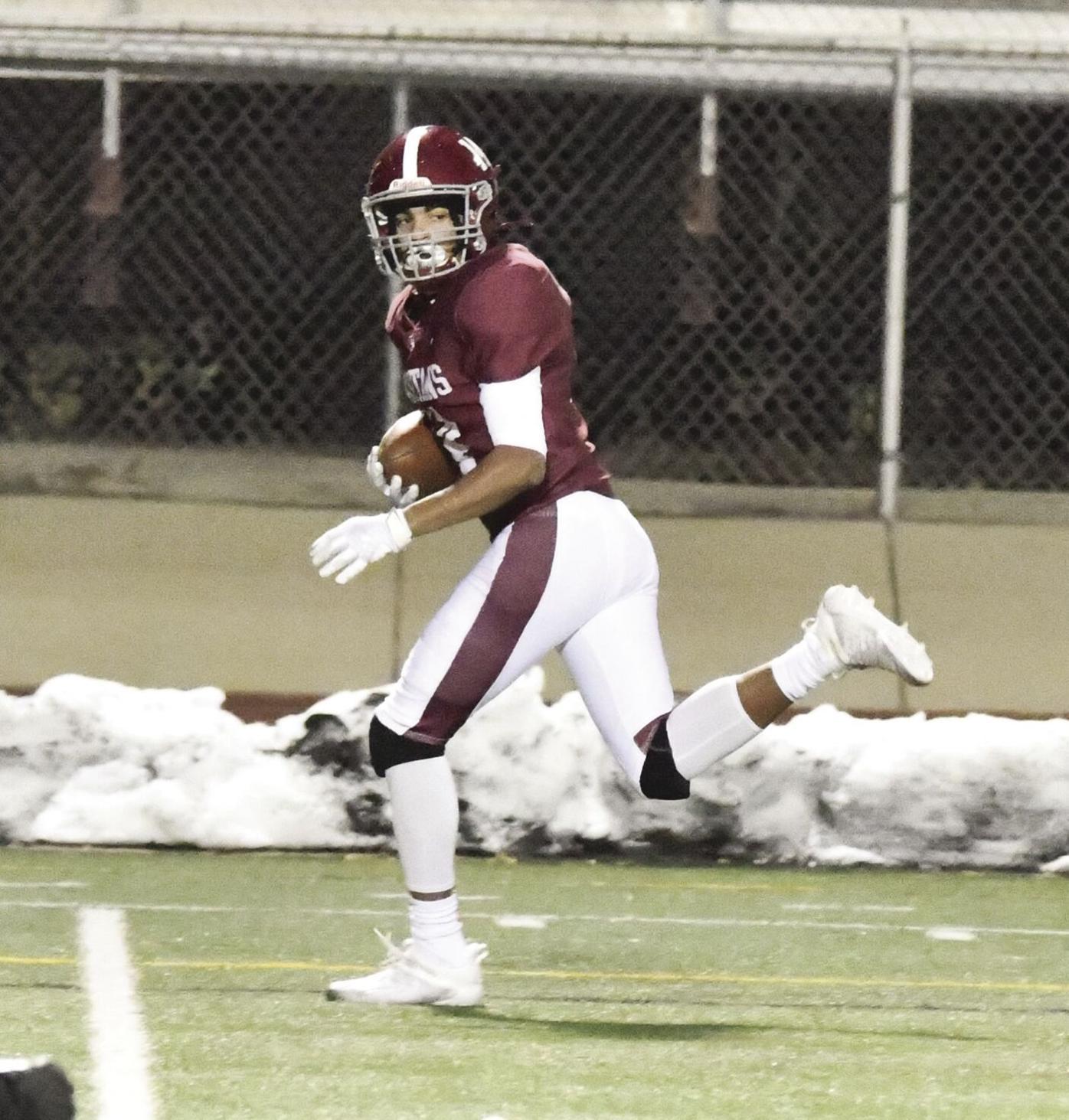 Mitchell January touchdown