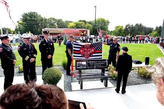 Fire department gives nod to past to open new station