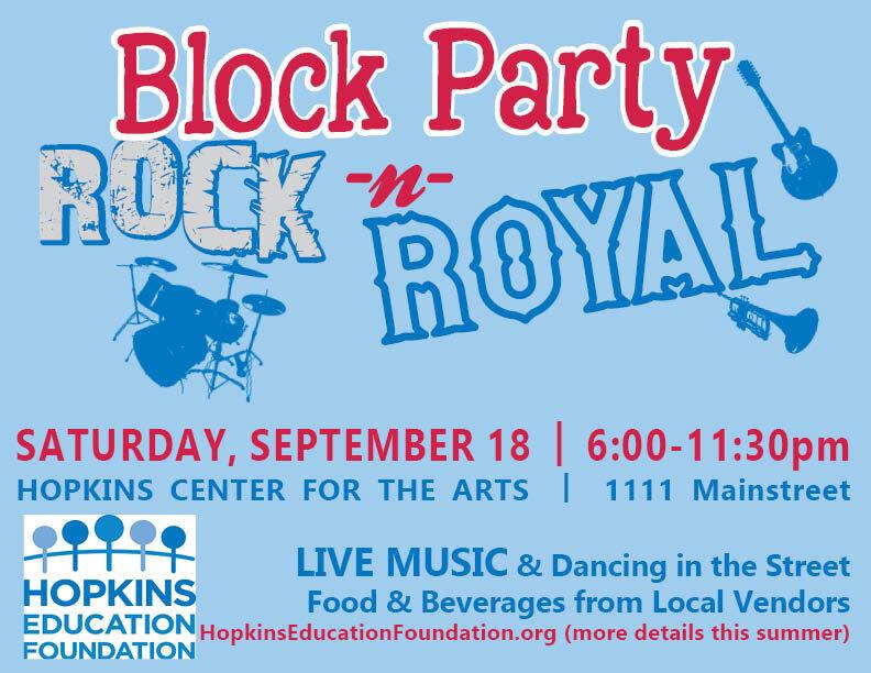 The Rock -n- Royal Block Party