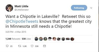 Chipotle to open in Lakeville