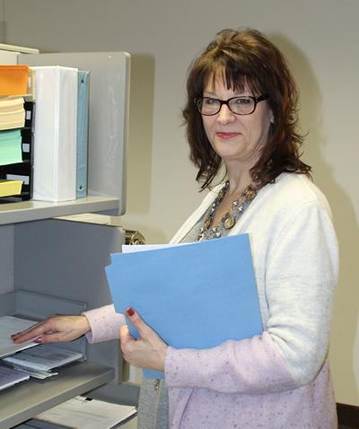 Betty Roehl named January 'Employee of the Month'