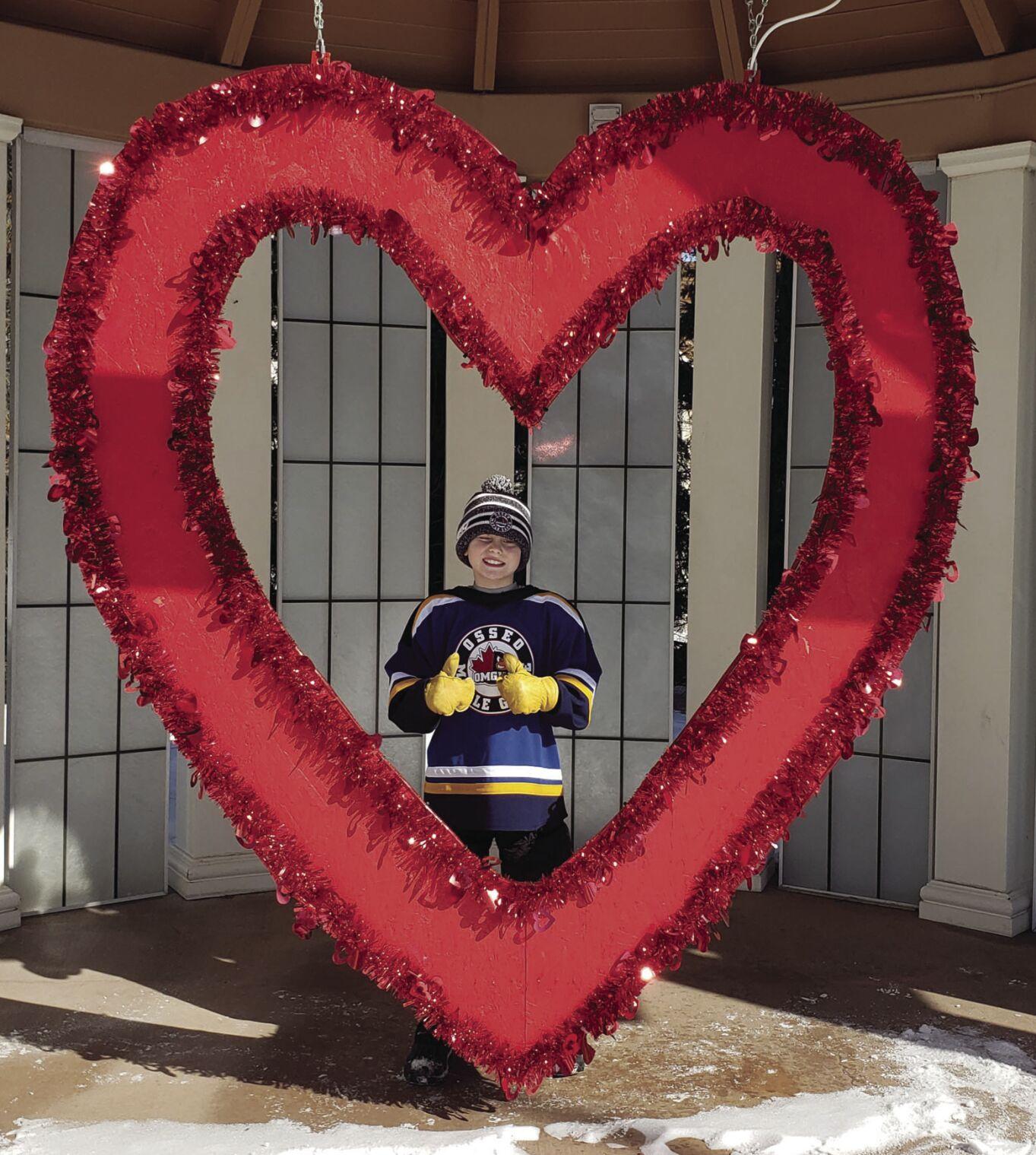 Spreading love in Osseo