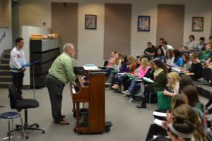 Eagan High school choir works with composer | Education