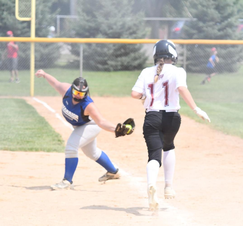 Play at first base