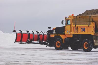 snow plow mt