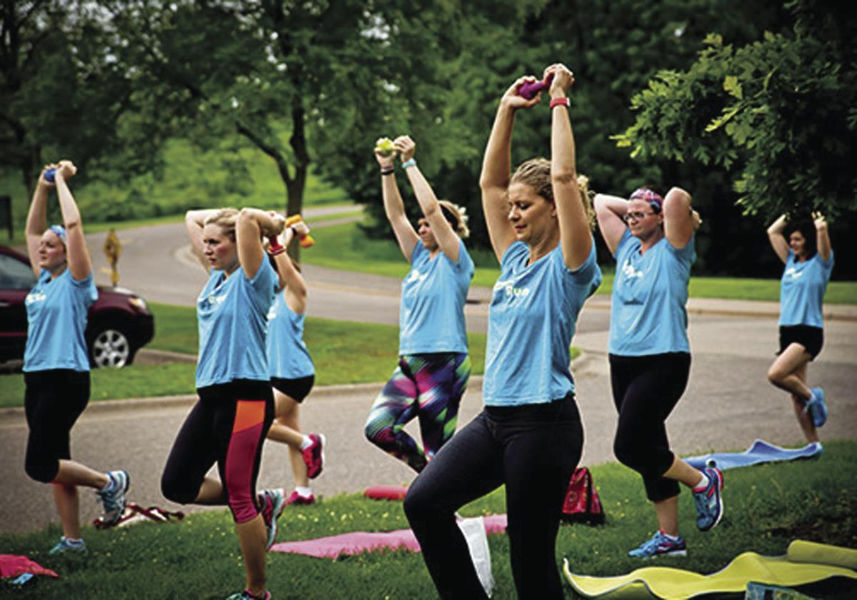 Fitness and friendship:  Maple Grove Moms on the Run offers fitness to busy women