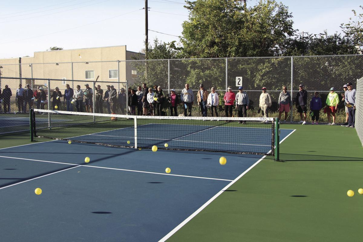 Pickleball courts officially open at Central Park