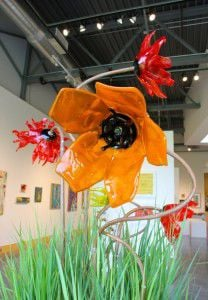 Art of the Garden exhibit at Minnetonka Center for the Arts