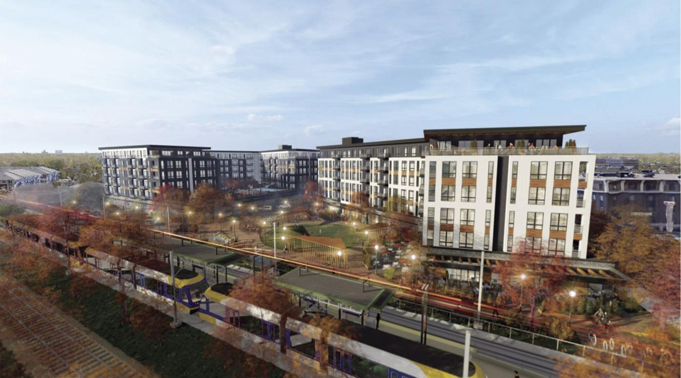 St. Louis Park companies propose six-story buildings near Wooddale Station - 2