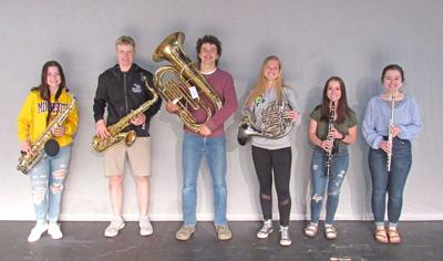 Auditioning LFCHS students make All-State band
