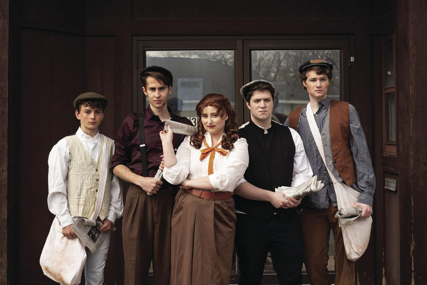 Free performances of 'Newsies the Musical' in Dayton