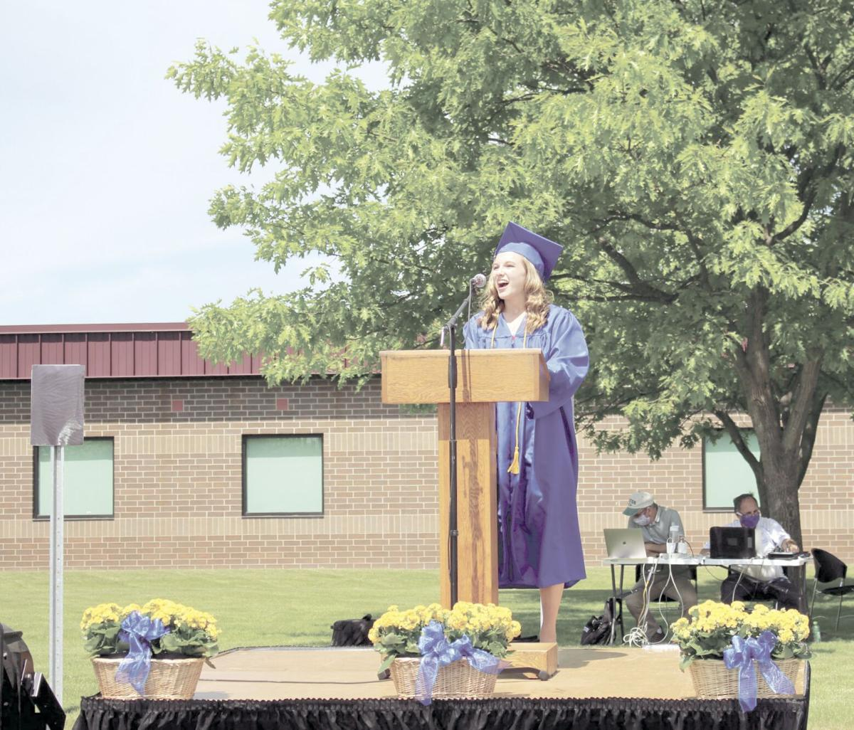 Rush City Area High School celebrates commencement