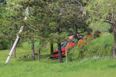 Rollover Friday, May 31 southeast of Monticello
