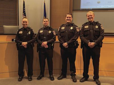Maple Grove swears in 4 new police officers