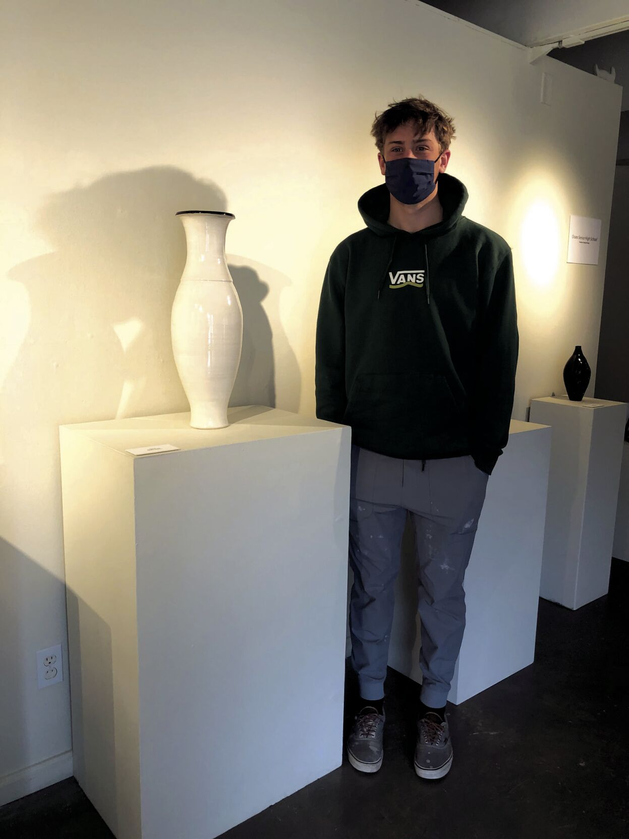In sports and pottery, Osseo's Vaughn Ruska embraces the work