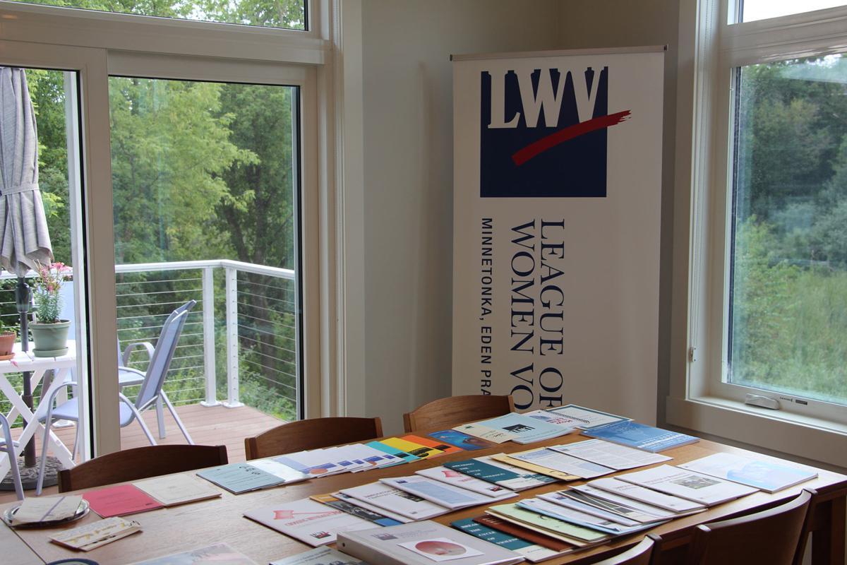 League of Women Voters exhibit items