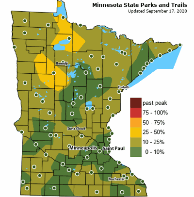 DNR report provides guide to fall color season