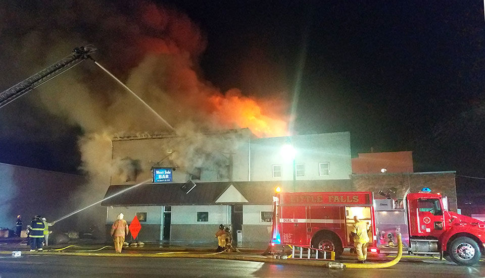 Cause of West Side Bar fire under investigation, suspects lightning