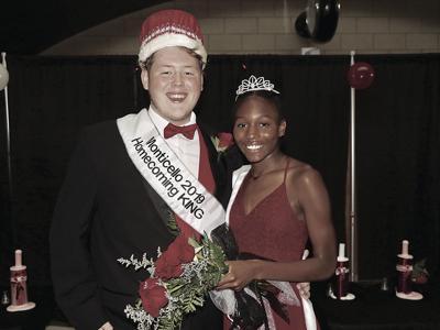 2019 Monticello Homecoming King Queen