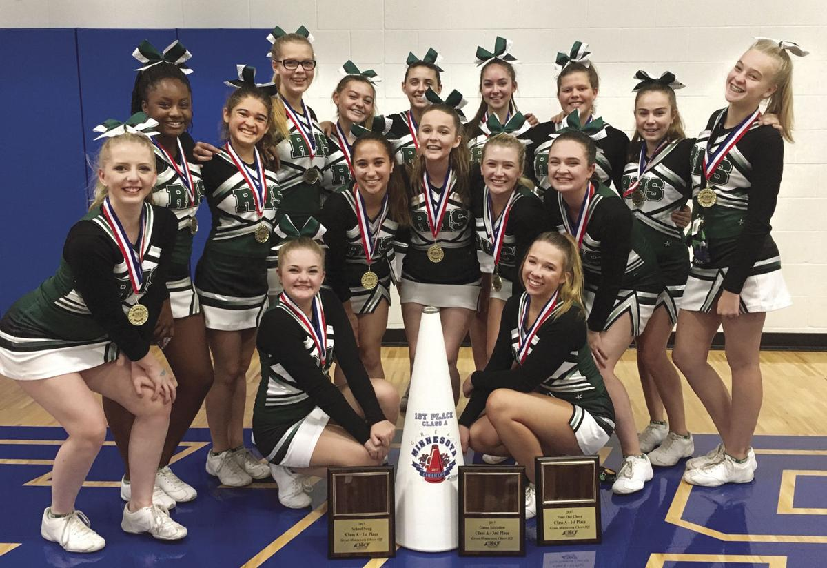 Rockford cheer team captures state class a crown again community rockfords cheer team was crowned state class a champion front row from left mckenzie raymond and leiana jensen middle row dakota roeun tiffany curtis 1betcityfo Choice Image