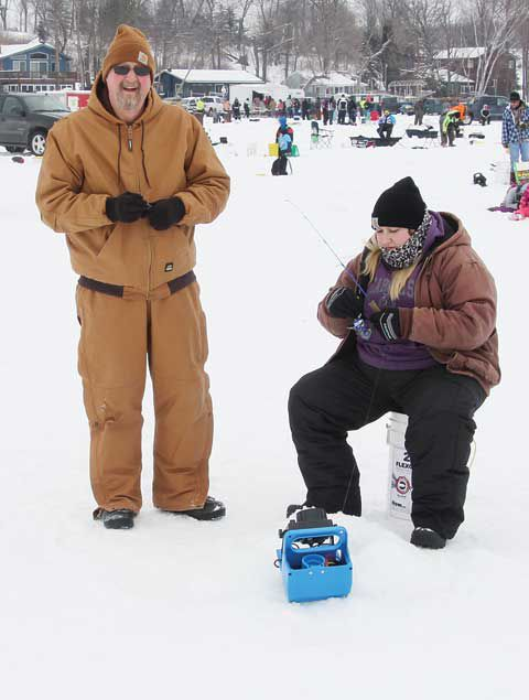 Lions host 25th ice fishing contest in Swanville | Local