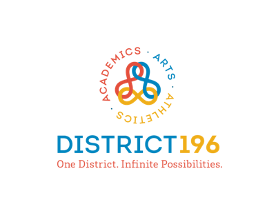 District 196 logo