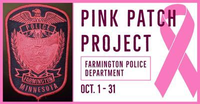 Farmington Police Department's Pink Patch Project