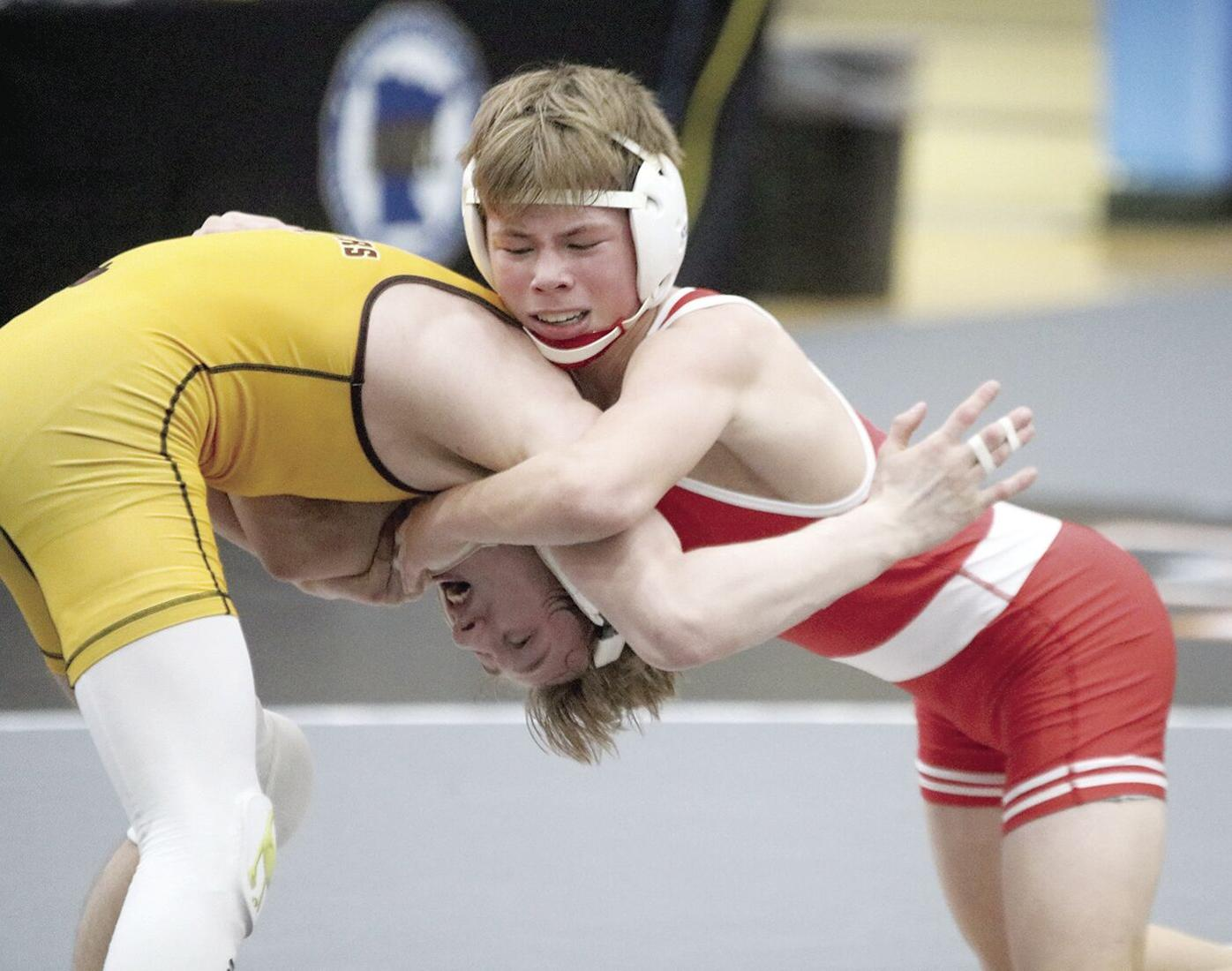 Panthers' Volk is back-to-back state champ