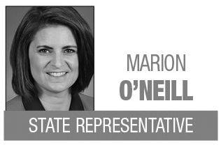 Marion O'Neill column logo MT