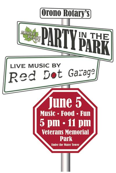 2021 Party in the Park logo