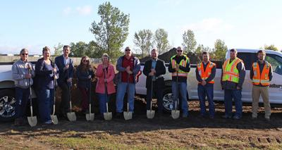 Tri-CAP breaks ground in Little Falls for new transit facility