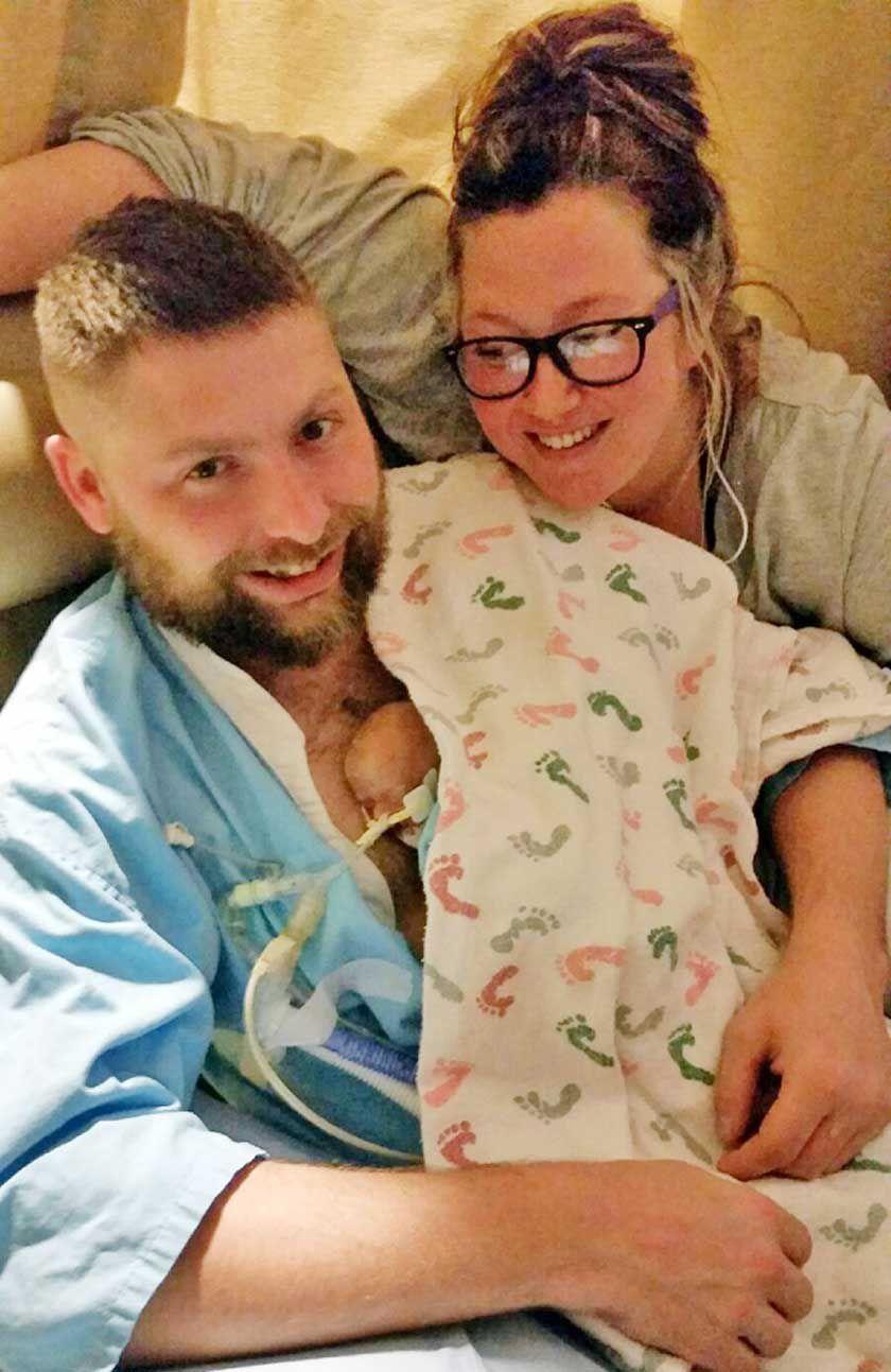 Steady progress keeps Little Falls couple hopeful for their preemie son