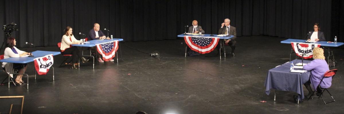 Board hopefuls discuss racial inclusion at Gazette forum