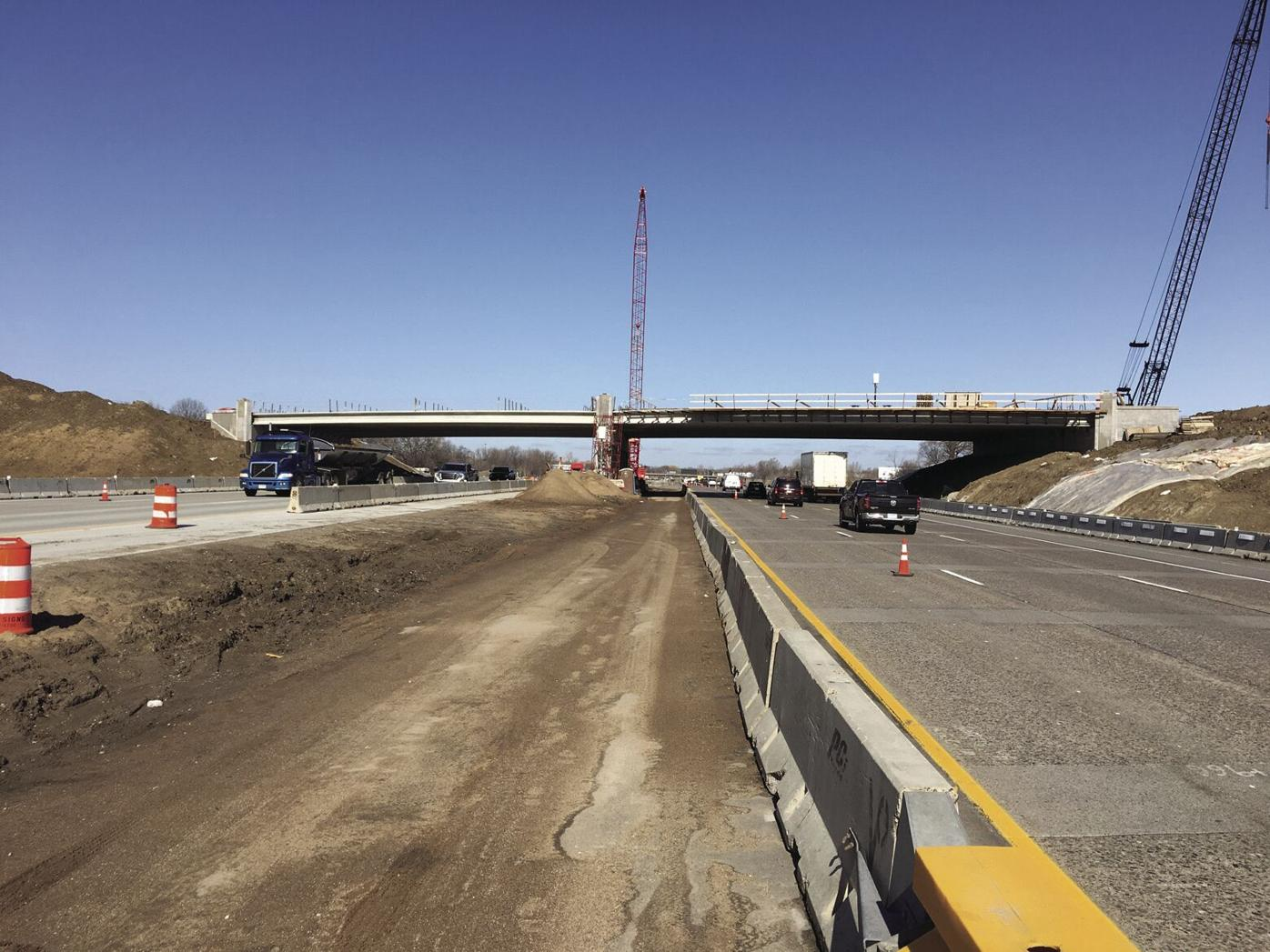 Dayton Parkway Interchange bridgework to be complete this spring