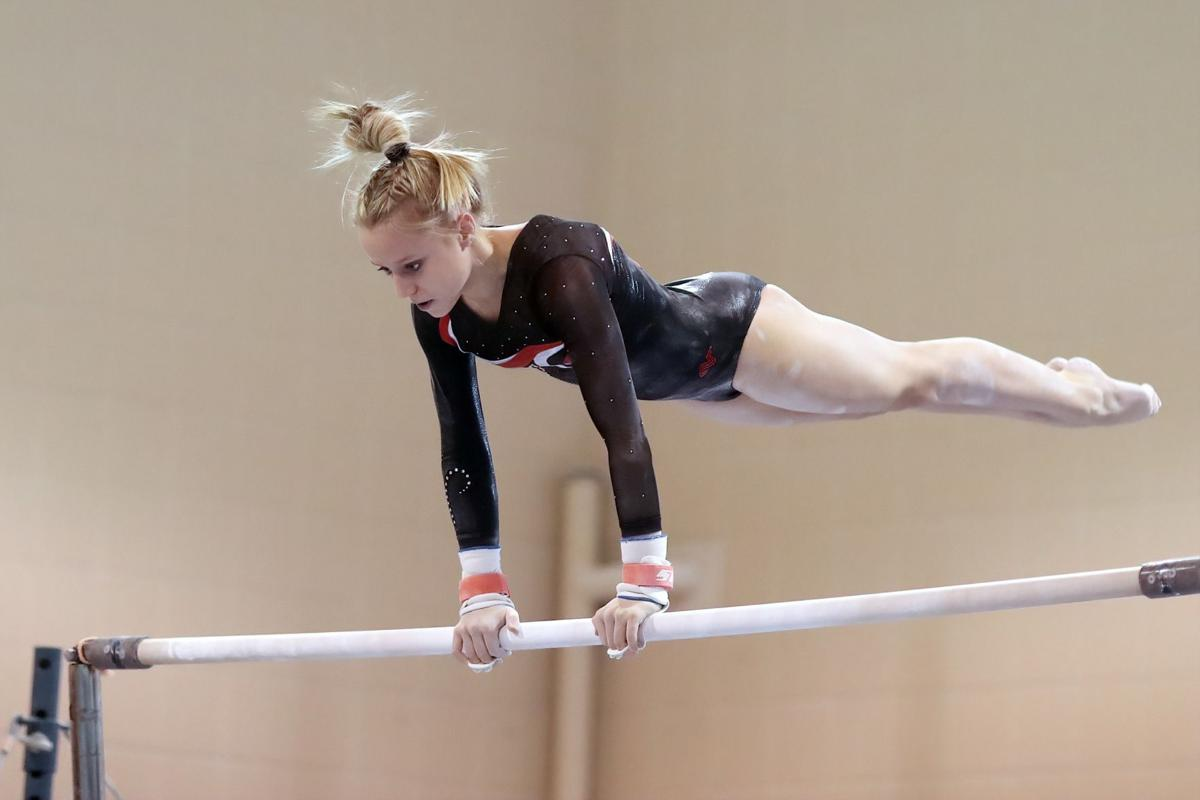 Panthers go undefeated in SSC gymnastics