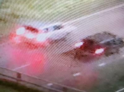 Shooting suspect vehicle