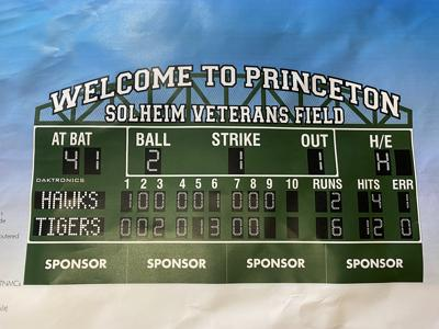 Mark Park scoreboard