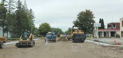 Paving on west side set to  begin mid- to late week