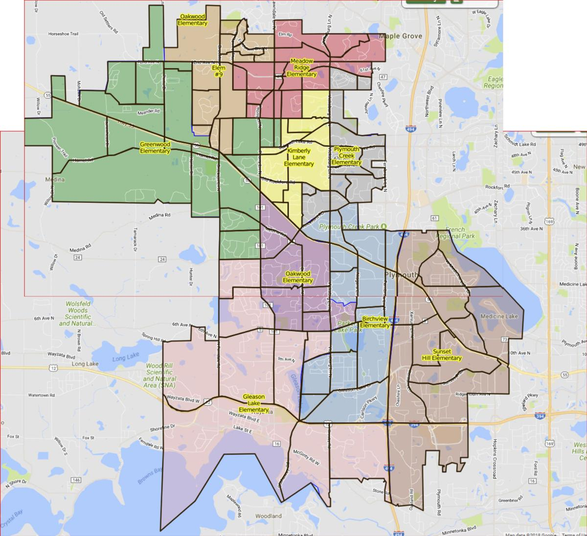 Wayzata School District Map Public input session will be May 2 for new school attendance areas  Wayzata School District Map