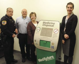Osseo adds drop box for unused medications