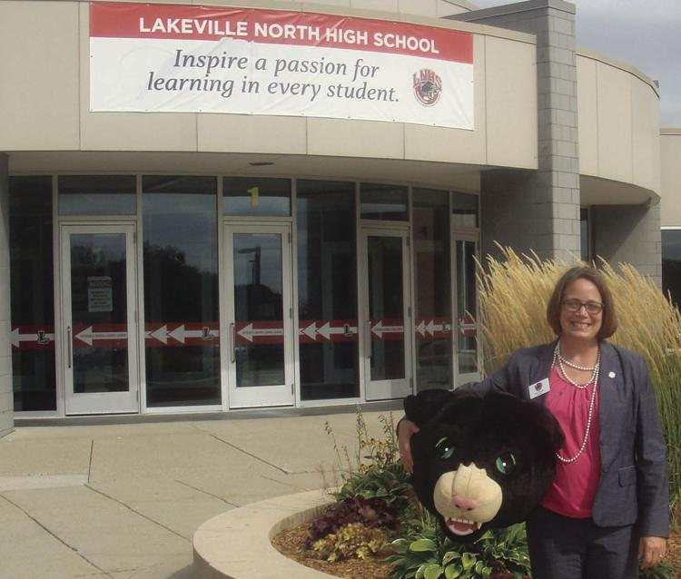 A Lakeville homecoming for new LNHS principal