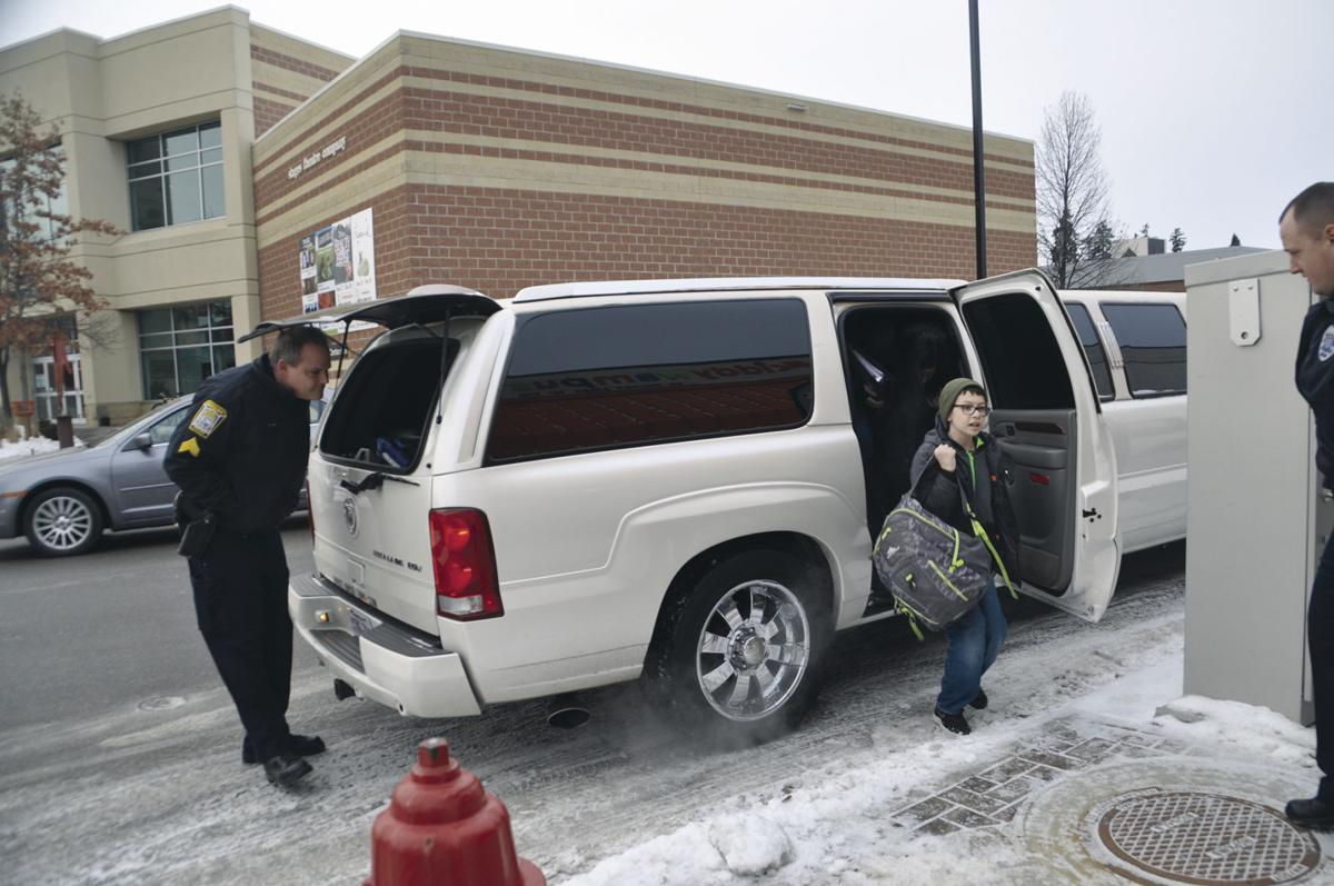 Hopkins Police officers, 16 children pair up for holiday shopping spree